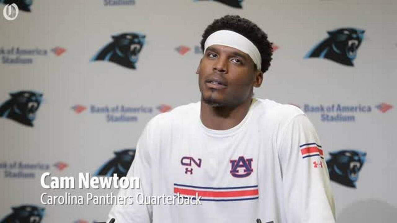 Cam Newton posts his own mugshot online and celebrates a life turned