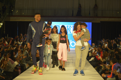 What happens when players' kids hit the All-Star fashion runway? They upstage their dads.