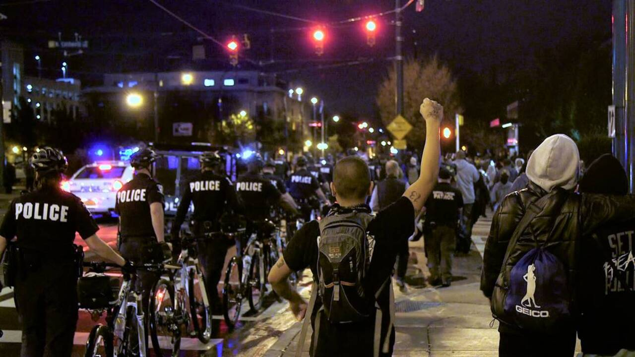 CMPD releases names of 4 arrested during uptown police protests