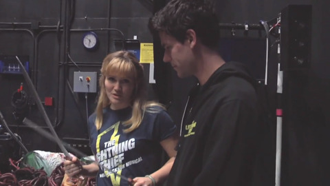"""Go backstage with the stars of """"The Lightning Thief"""""""