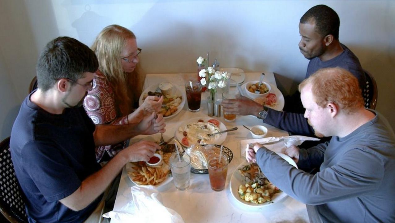 Living with cerebral palsy, he's also become 'The Dude': a food critic. Can this be his future?