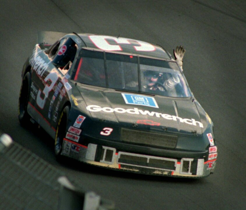 Famous Earnhardt car not original, NASCAR team owner says