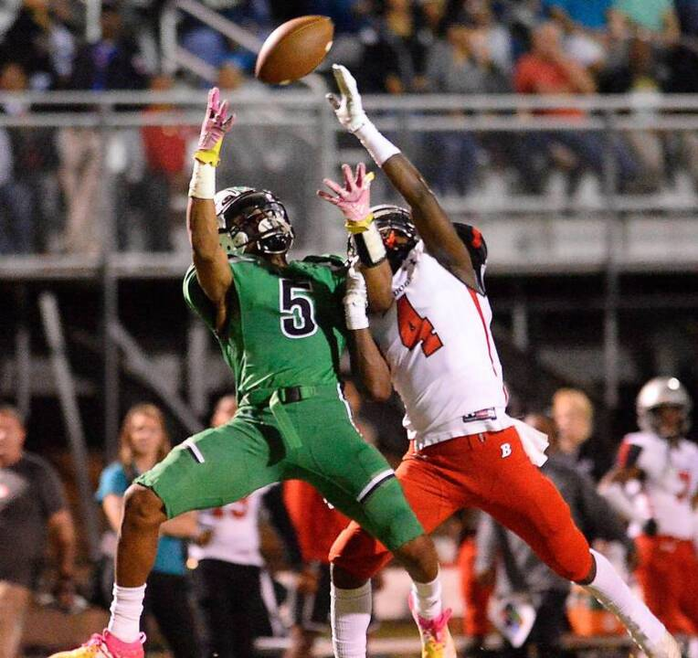 WATCH: Myers Park receiver's Muhsin Muhammad's memorable catch against Butler