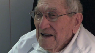 Oldest living MLB player talks about pitching to Hall of Fame hitter Ted Williams