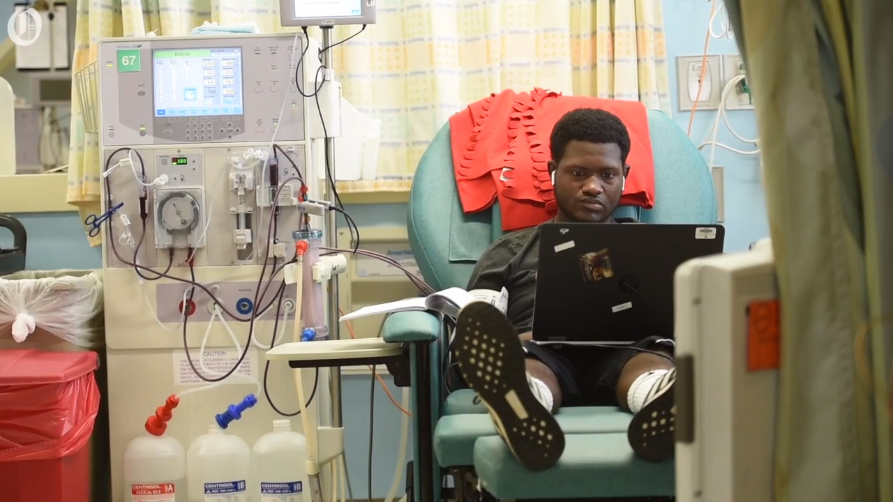 This Charlotte teen's future is bright. He needs a new kidney to make it possible.