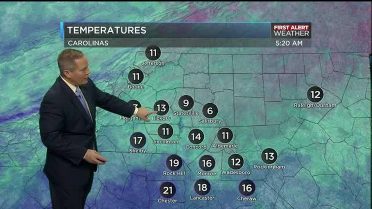 WBTV First Alert Weather sees a warming trend | Tri-City Herald