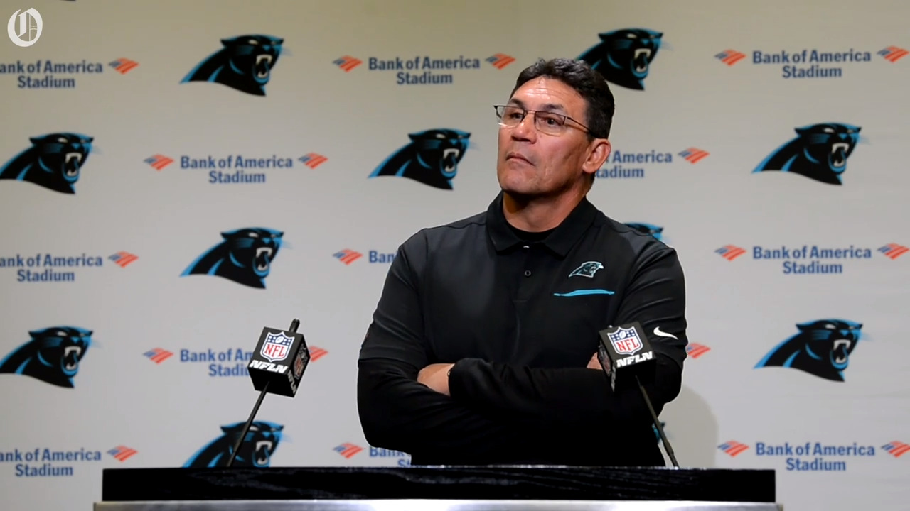 What Ron Rivera said about  placing Cam Newton on injured after win over Titans