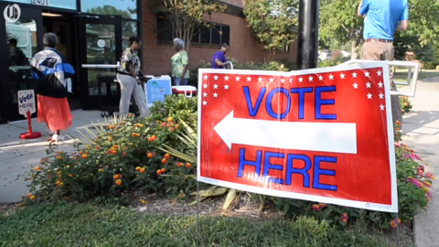 Election Day brought voters out across Charlotte for primaries and the 9th district special election