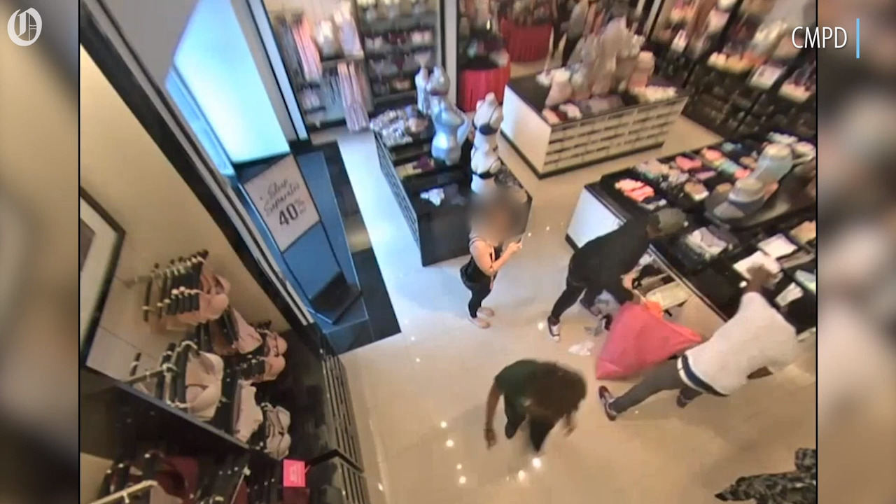 Shoplifting duo take off with thousands worth of merchandise from Victoria's Secret, police say