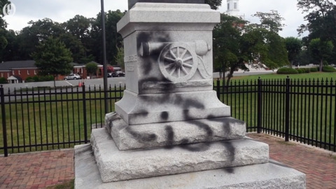 Lawsuit aims to remove Confederate monuments at N.C. courthouses, with Gaston's first