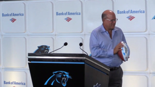 David Tepper talks about the future of Jerry Richardson's statue