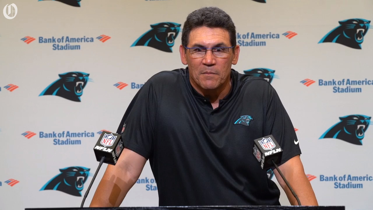 1-on-1 with Panthers coach Ron Rivera about his future, Cam Newton and more