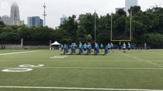 Quick look at first day of Panthers minicamp