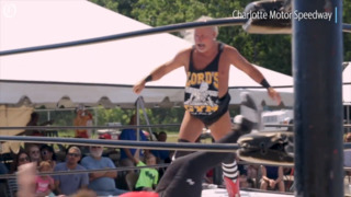 Wrestler who lost to Ric Flair 200 times wrestles at Charlotte Motor Speedway