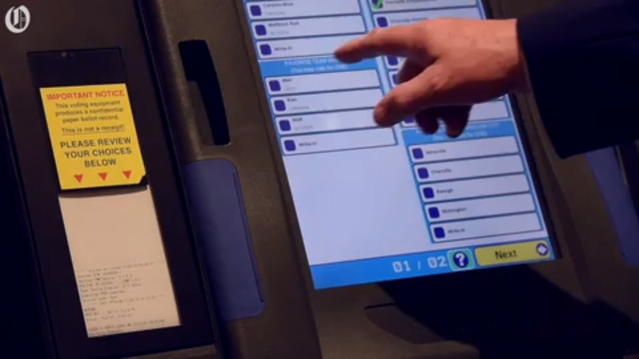 Cyber security concerns lead NC officials to delay approval of new voting machines