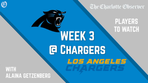 THREE PLAYERS TO WATCH: Panthers vs Chargers