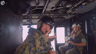 NASCAR's Kurt Busch lives day in the life of a recon Marine at Camp Lejeune