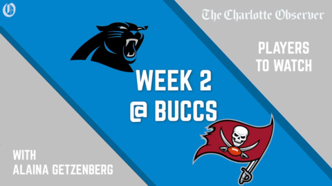 THREE PLAYERS TO WATCH: Panthers vs Buccs