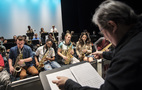 Students from 15 Schools Rehearse for A Musical Showcase