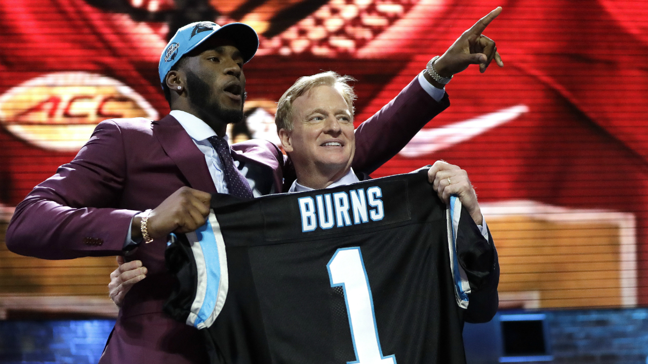Panthers draft picks get jersey numbers, including a couple of surprising choices