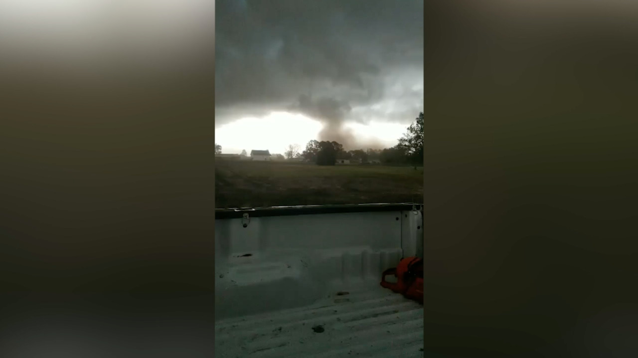 Dramatic Facebook video shows tornado that ripped off roofs at NC coast on Friday