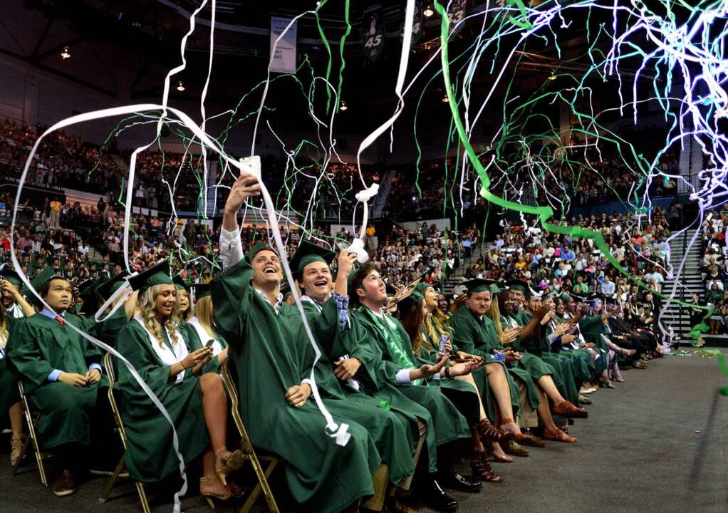 Uncc Graduation 2020.Unc Charlotte Holds Commencement Ceremonies Charlotte Observer