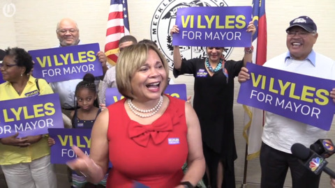 In a field of perennial candidates, why Charlotte Mayor Vi Lyles has an edge this year