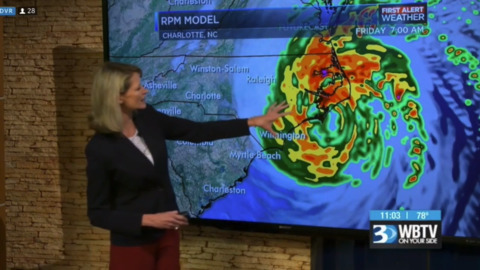 How will Hurricane Dorian affect Charlotte?