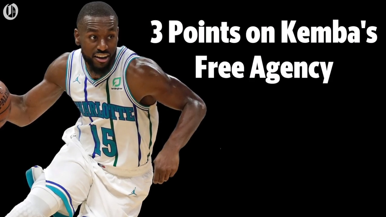 Here's what you need to know about the Hornets and star Kemba Walker's free agency