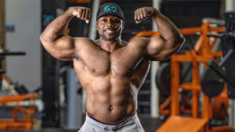 Charlotte area bodybuilder competes in online fitness contest