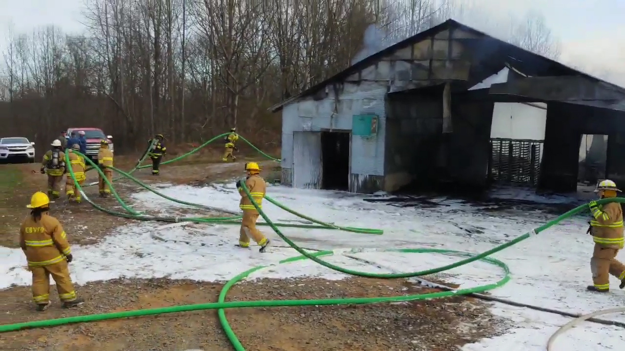 34,000 chickens die in poultry farm fires in North Carolina, Virginia, officials say