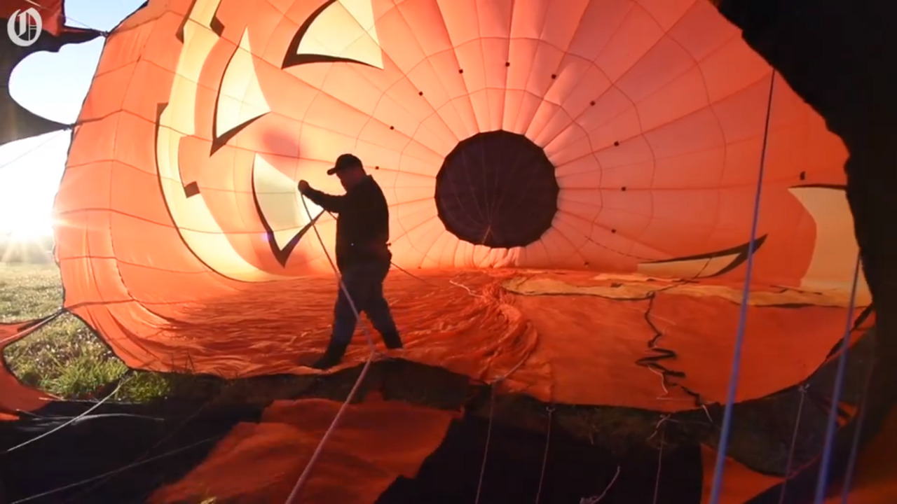Hot air balloons grace Iredell County skies at 46th annual Carolina BalloonFest
