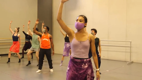 Charlotte Ballet dancers rehearse Innovative: Direct from the LAB