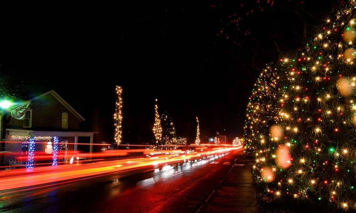 Mcadenville Christmas Lights.Christmas Town Usa In Mcadenville Named No 2 Holiday Lights