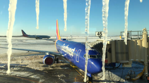 Stranded travelers hope to fly out as KCI re-opens