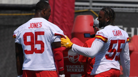 Kansas City Chiefs' Frank Clark ready for success with Jarran Reed, Chris Jones, and young players