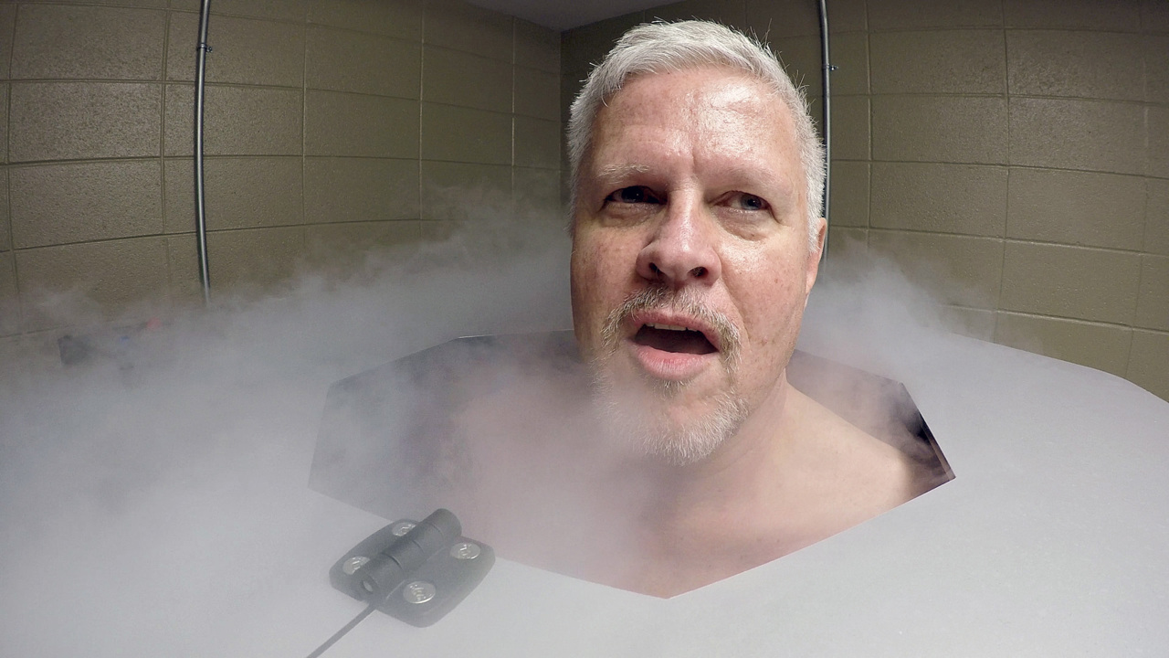 Cold truth about cryotherapy: Holy %#*&, the longest three minutes of my life