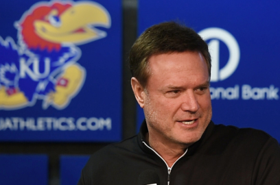 """Bill Self on West Virginia: """"they are more dangerous than their record"""""""
