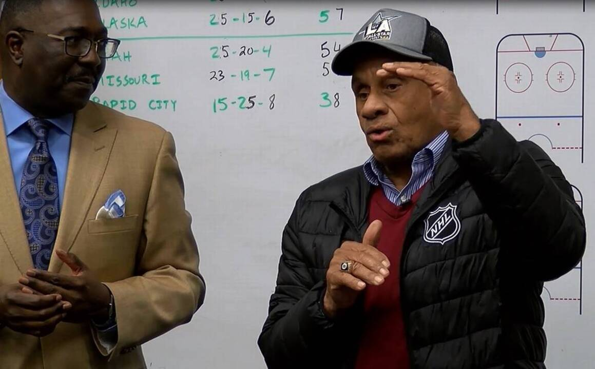 Willie O'Ree, the NHL's first black player, says hockey is ...