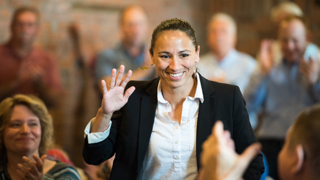 Democratic candidates support Sharice Davids to 'flip the district'