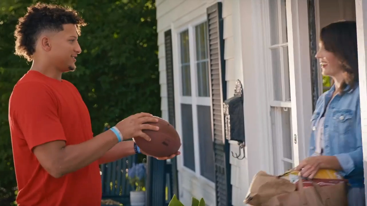 Chiefs' Patrick Mahomes stars in two new DirecTV NFL Sunday Ticket commercials