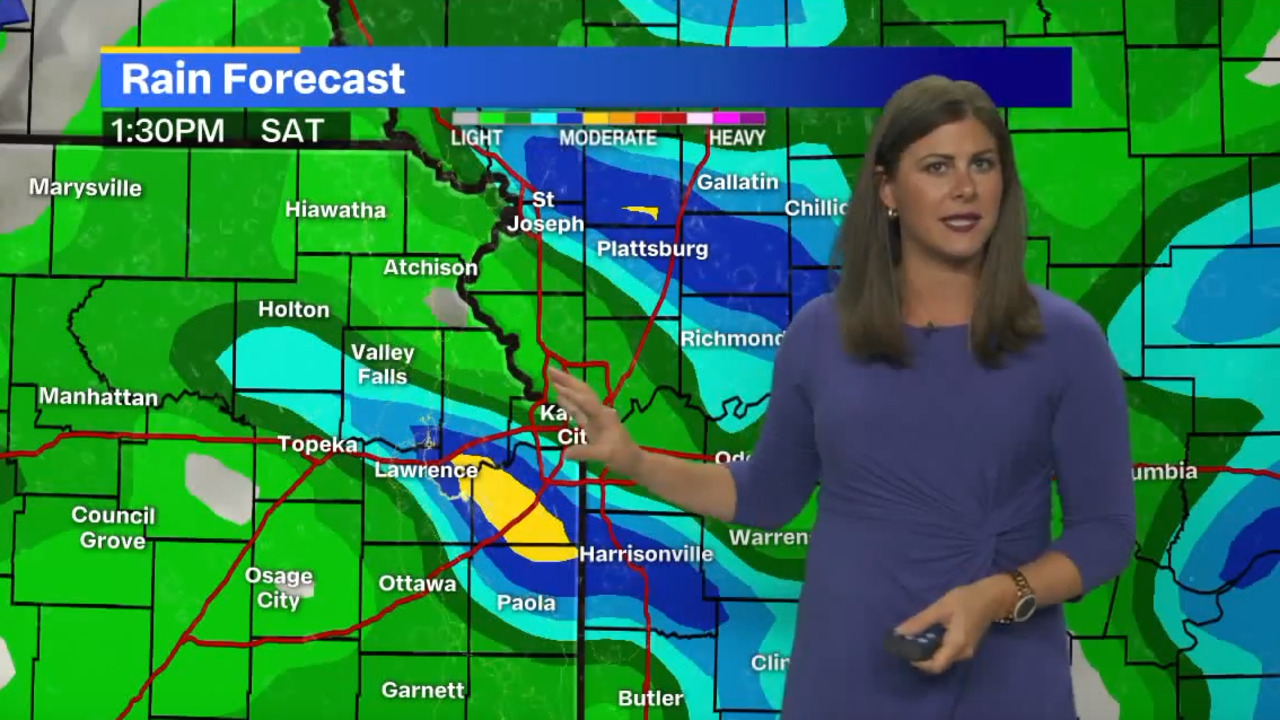 Rain, thunderstorms in forecast: So what is the latest for Chiefs game this weekend?