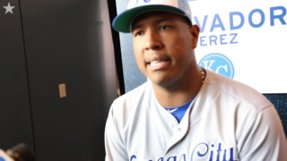 Perez on keeping a positive, focused mindset despite Royals' struggles