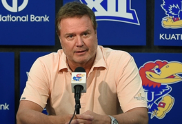 KU Jayhawks coach Bill Self on Lagerald Vick's possible return