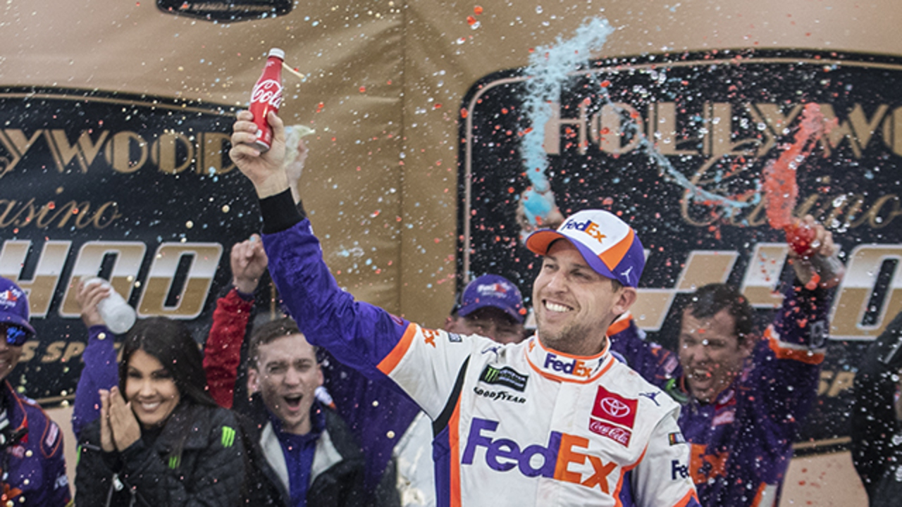 A clutch win, a new mind-set and Denny Hamlin's hunt for his first NASCAR Cup Series title
