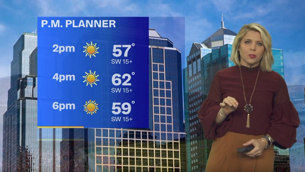 Saturday afternoon to bring sunshine, Sunday's Chiefs game to see comfortable temps