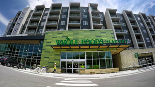 New Whole Foods Market's tap room has local spirits and coffee bar