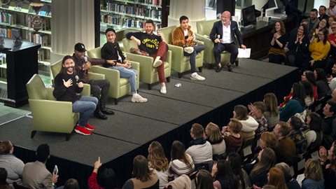 'Queer Eye's' Fab Five gush about KC food and people at sold-out library event