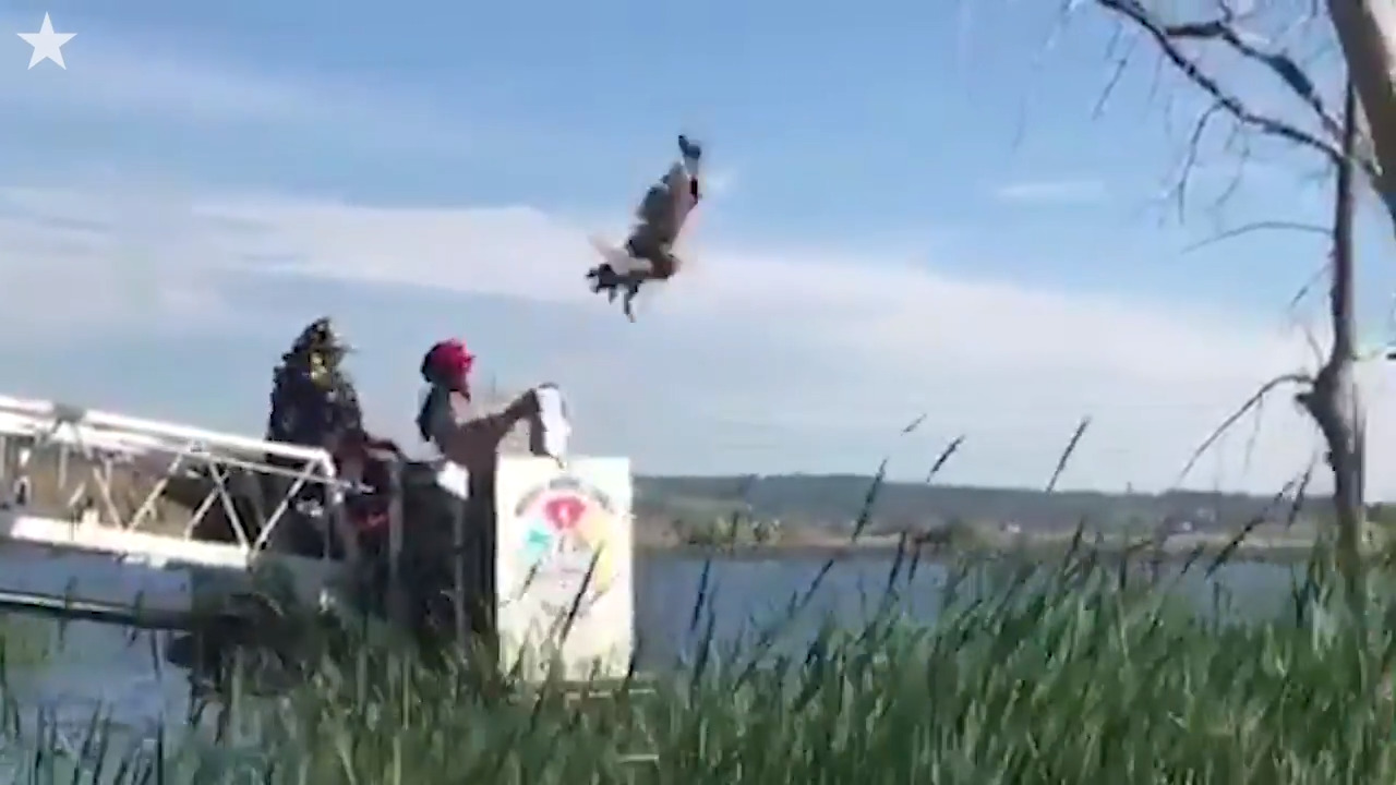 Watch Colorado firefighters work to rescue owl dangling from fishing line