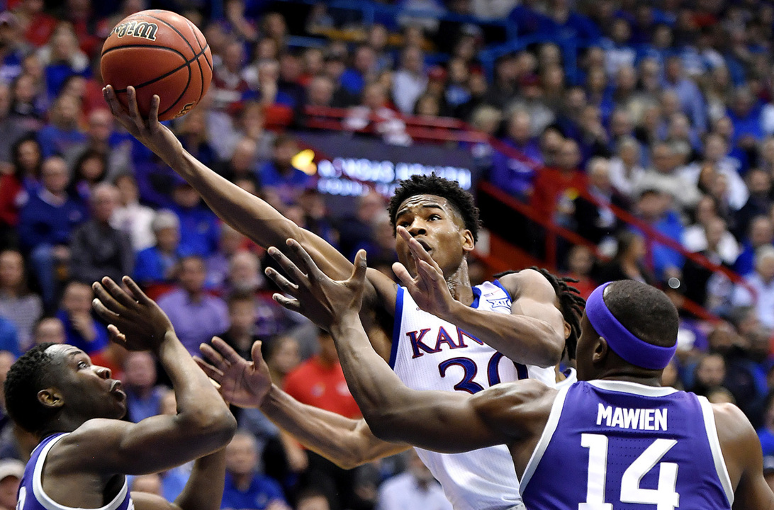 Kansas Jayhawks basketball at K-State: Lineups, tipoff time, TV info and predictions